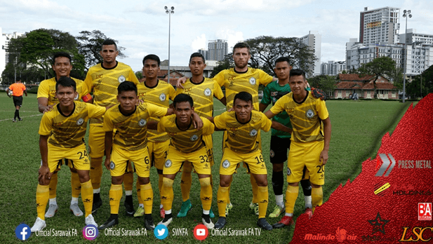 Sarawak FA defeated